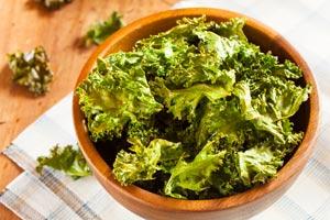 healthy snacks Kale Chips